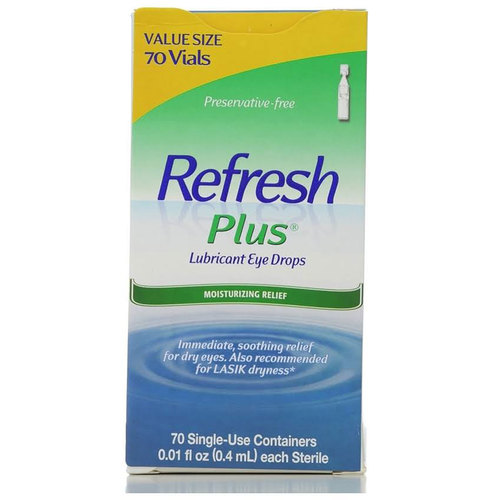 Plus Lubricant Single-Use Eye Drops
