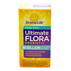 Renew Life Ultimate Flora Critical Colon 80 Billion
