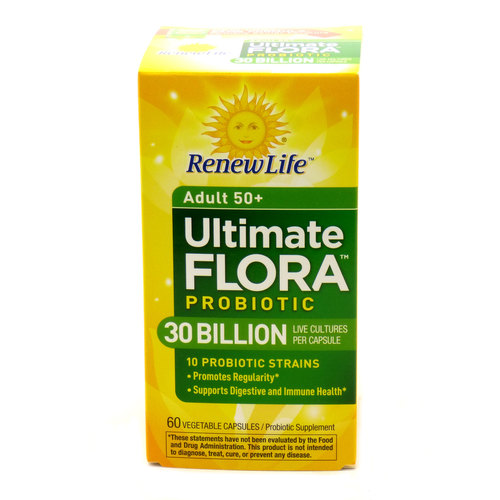 Ultimate Flora Adult 50+ Formula 30 Billion