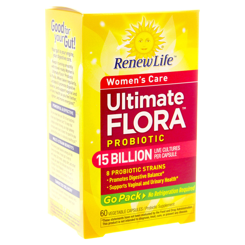 Ultimate Flora Women's Probiotic Go Pack 15 Billion