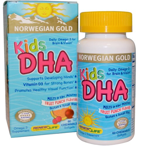 Norwegian Gold Kids DHA