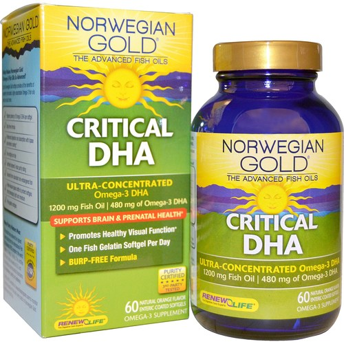 Norwegian Gold Critical DHA