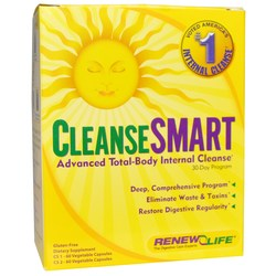 Renew Life CleanseSmart - 2 Part Detox