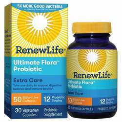 Renew Life Extra Care Ultimate Flora Probiotic