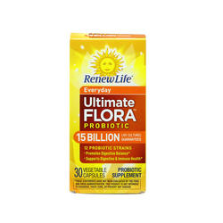 Renew Life Everyday Ultimate Flora Probiotic 15 Billion