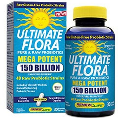 Ultimate Flora Mega Potent 150 Billion