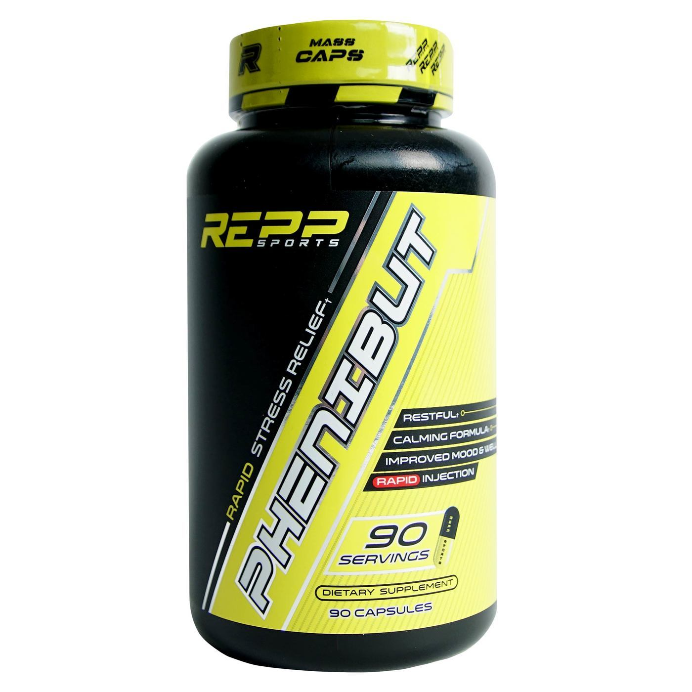 Repp Sports Phenibut - 250 mg - 90 Capsules