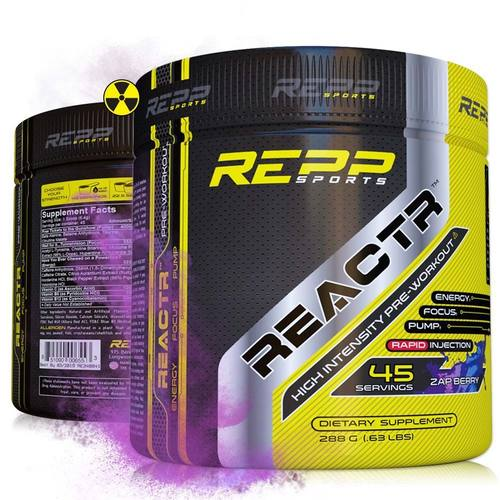 Repp Sports Reactr Zap Berry - 45 servings