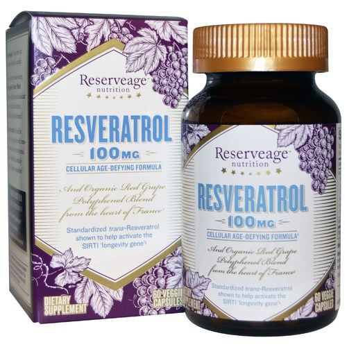 Reserveage Resveratrol 100毫克 - 60ct by Reserveage 有机s -  - 85035_1.jpg