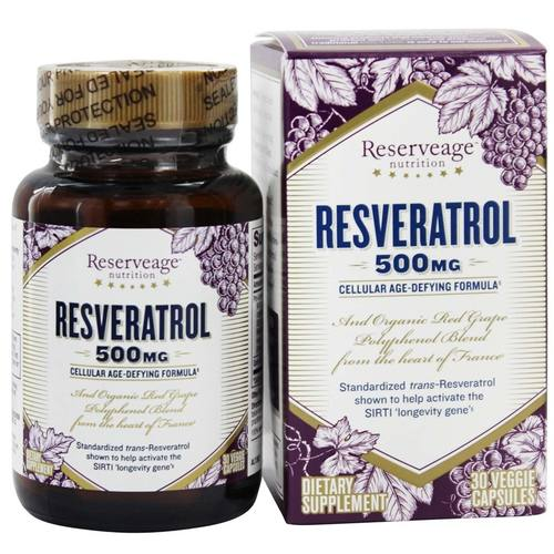 Reserveage Resveratrol 500毫克 - 30ct by Reserveage 有机s -  - 85040_1.jpg