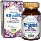 Reserveage Organics Resveratrol With All-Natural Pterostilbene