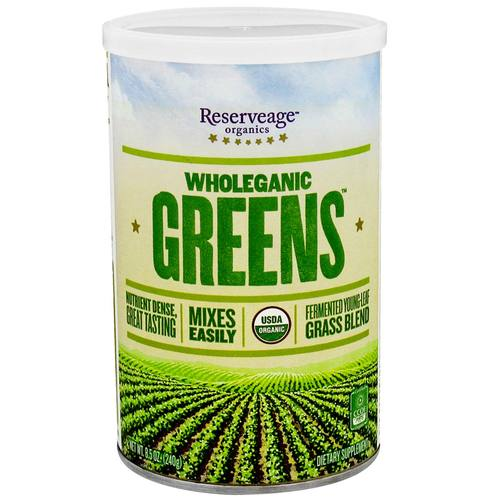 Wholeganic Greens Superfood Blend