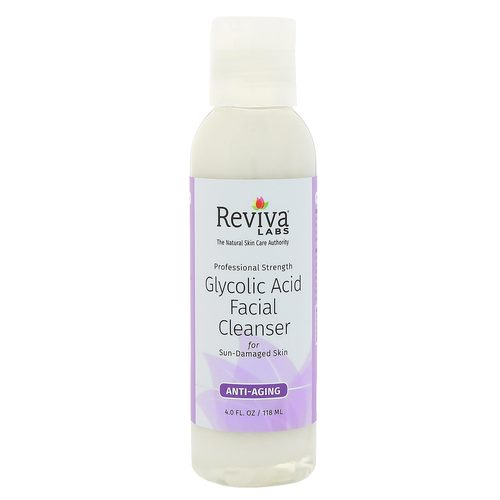 Reviva Labs Glycolic Acid Facial Cleanser for Sun-Damaged Skin  - 4 fl oz - 2808_front.jpg