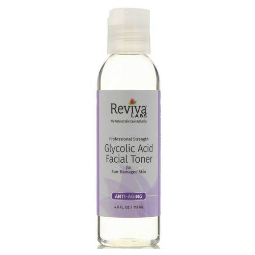 Reviva Labs Glycolic Acid Facial Toner - 4 oz - 2823_front.jpg