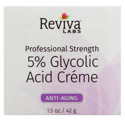 Reviva Labs Glycolic Acid Cream 5 Percent