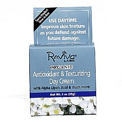 Reviva Labs Organic Antioxidant and Texturizing Day Cream