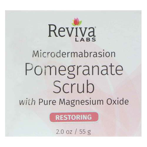 Microdermabrasion Pomegranate Scrub with Pure Magnesium Oxide