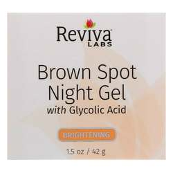 Reviva Labs Brown Spot Night Gel with Glycolic Acid