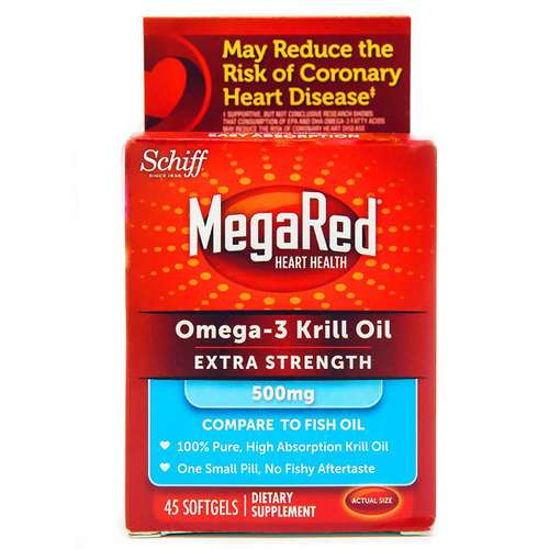 MegaRed Krill Oil Extra Strength