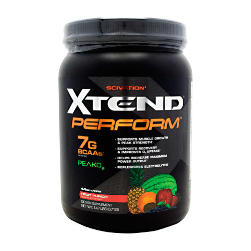 Scivation Xtend Perform Fruit Punch - 44 Servings