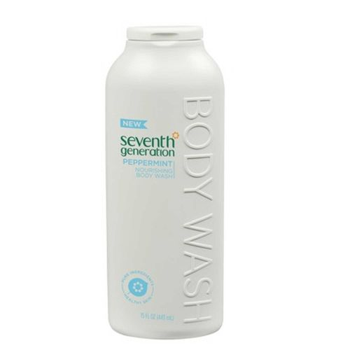 Seventh Generation Body Wash Peppermint - 15 oz