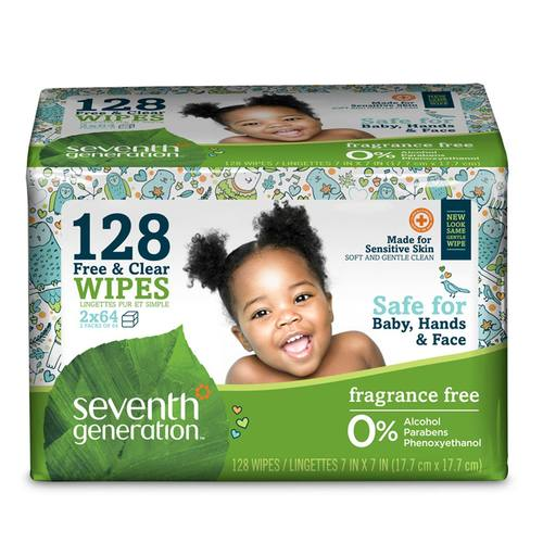 Free and Clear Wipes