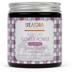 Shea Terra Organics African Flower Power Calming Baby Butter