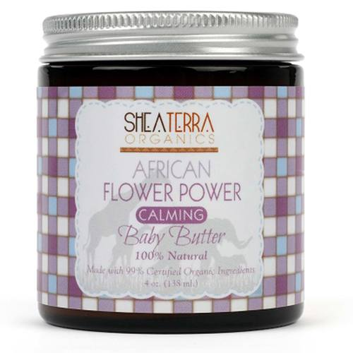 African Flower Power Calming Baby Butter