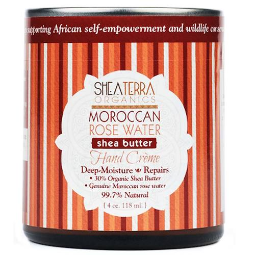 Moroccan Rose Water Shea Butter Hand Creme