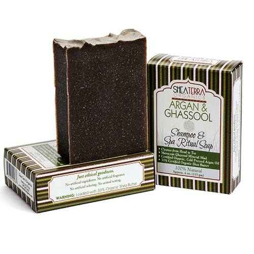 Argan and Ghassool Shampoo and Spa Body Bar