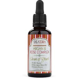 Shea Terra Organics Argan and Rose Complex Facial Serum