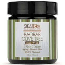 Shea Terra Organics Baobab Olive Tree Face Creme