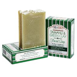 Shea Terra Organics Tamanu and Green Clay Purifying Soap