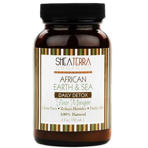 African Earth and Sea Detox Mineral Face Masque
