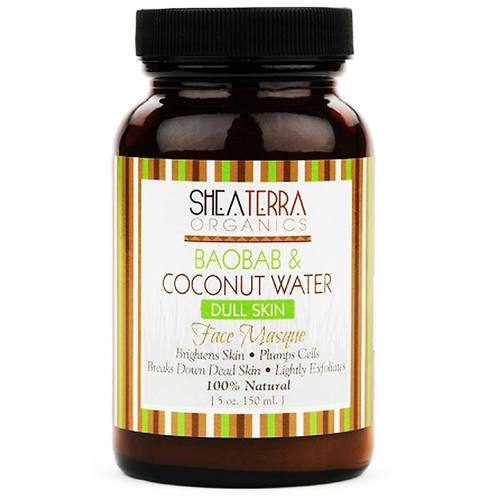 Baobab and Coconut Water Dull Skin Face Masque