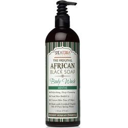 Shea Terra Organics African Black Soap Body Wash