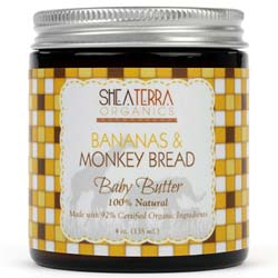 Shea Terra Organics Banana and Monkey Bread Baby Butter
