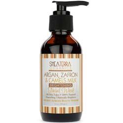 Shea Terra Organics Argan- Zafran and Camel's Milk Facial Wash