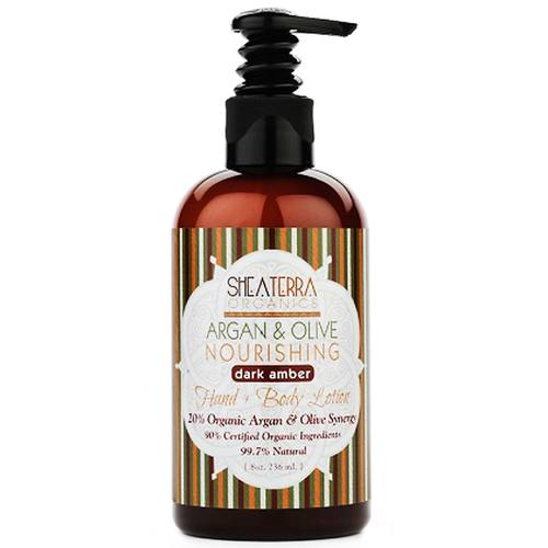Argan and Olive Body Lotion