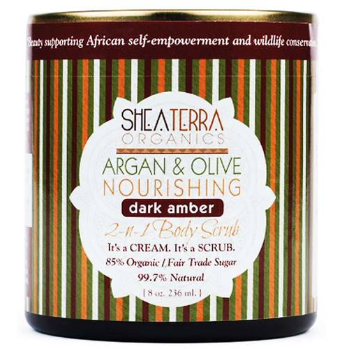 Argan and Olive 2-in-1 Body Scrub