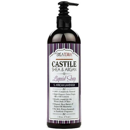 Castile Shea  Argan Liquid Soap