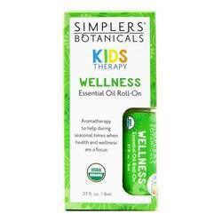 Simplers Botanicals Kids Therapy Wellness Essential Oil Roll-On