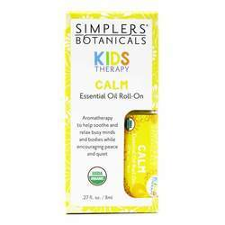 Simplers Botanicals Kids Therapy Calm Essential Oil Roll-On