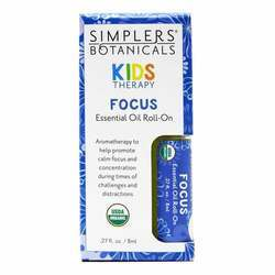 Simplers Botanicals Kids Therapy Focus Essential Oil Roll-On