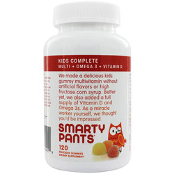 SmartyPants Vitamins Kids Complete