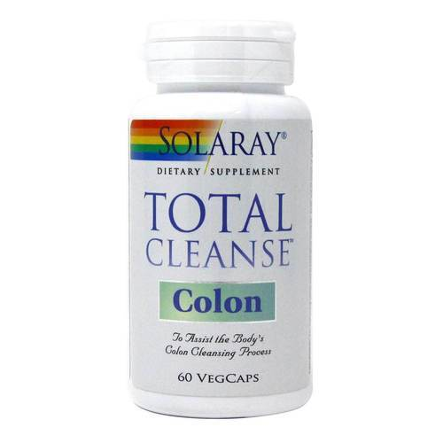 Solaray Total Cleanse Colon - 60 Капсулы - 12096_front2020.jpg