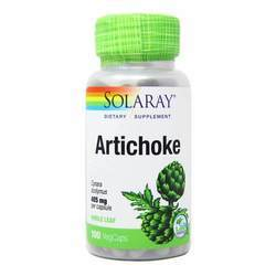 Solaray Artichoke 405 mg Whole Leaf