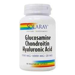 Solaray Glucosamine Chondroitin Hyaluronic Acid