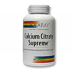 Solaray Cal Citrate Supreme