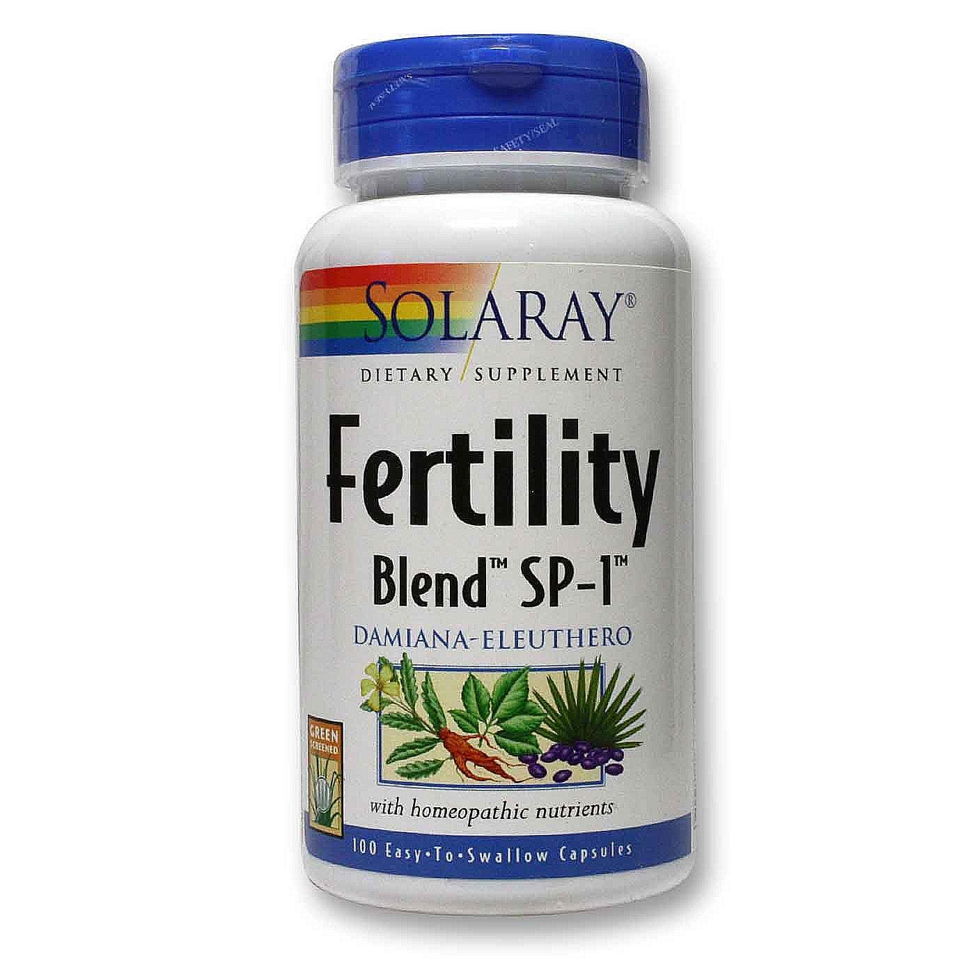 Solaray Fertility Blend SP-1 - 100 Caps